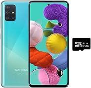 Samsung Galaxy A51 GSM UnlockedA515F/DS 128GB + 64GB SD + Case Bundle