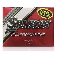 SRIXON DISTANCE 24 只装高尔夫球,白色