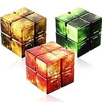 3 件无限立方体无限玩具塑料迷你小工具,带星星图案,用于*和*