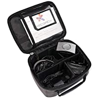 Ceecoach 存储袋可容纳 4 个设备 AUFBEW AHRU 袋 - 黑色,均码