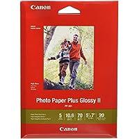 Canon 佳能 墨水 1432C002 光面照片纸II 5英寸/约12.7厘米 x 7英寸/约17.78厘米 20张