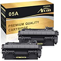 ARCON 2PK Black (2,600 Pages) Compatible Toner Cartridge Replacement For Brother TN450 TN-450 TN 450 Used For Brother HL-2280DW HL-2270DW HL-2240 HL-2240D MFC-7240 MFC-7860DW MFC-7460DN DCP-7065DN