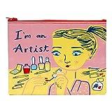 Blue Q Airmail 拉链袋 I'm an Artist QA269