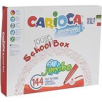 Carioca Schoolbox Marker 笔 多种颜色 (42826/B)