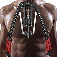 BDL Power Twister 可调节手臂锻炼器家庭胸部扩展器带阻力 22-440 磅 家用胸部扩展器肌肉肩部训练健身器材手臂增强锻炼