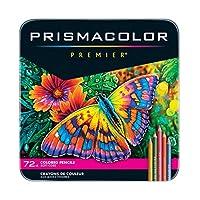 Prismacolor 高級彩色鉛筆,軟核,72支