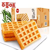 BE&CHEERY 华夫饼1000g 手撕面包早餐 食品零食美食小蛋糕礼盒 面包整箱休闲零食 团购