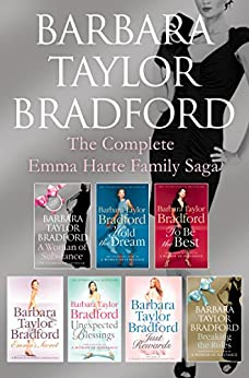 """""""The Emma Harte 7-Book Collection: A Woman of Substance, Hold the Dream, To Be the Best, Emma's Secret, Unexpected Blessings, Just Rewards, Breaking the Rules (English Edition)"""",作者:[Bradford, Barbara Taylor]"""
