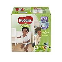Huggies 好奇 Little Movers 成长裤 6 74