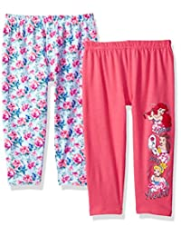 Disney 女童 Little Princess 打底裤 2 件套