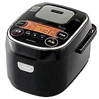 IRIS OHYAMA 爱丽思欧雅玛 电饭煲 3 合(约 0.54 升) 带不同品种大米区分煮饭模式 黑色 3) IH式 RC-IE30-B