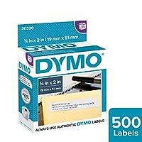 DYMO 正品 LW RETURN 地址標簽適用于 labelwriter 標簽打印機白色3?/ X 152.4?cm 1卷 OF 500