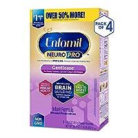 Enfamil 美赞臣 NeuroPro Gentlease 1段 0-12个月 适度半水解 婴儿配方奶粉 862g/盒 4盒装 防胀气配方