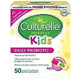 Culturelle 康萃乐 儿童每日益生菌包膳食补充剂| 帮助支持健康| 与您孩子的身体自然地一起工作| 50个单包