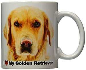 iLeesh i Love My Golden Retriever 咖啡杯