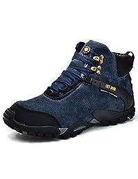 FeO DvKe 铁公爵 头层猪皮户外登山鞋 加棉保暖户外徒步鞋 95MC-175-V