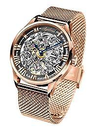 agelocer 艾戈勒 瑞士品牌 原装进口 手表男 全自动镂空机械男表 镂空雕花全自动机械表男士腕表 80小时超长动能潮男士手表 男士机械手表 (5401D9)