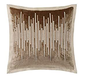 "Charisma 豪华羽绒填充隔层 Paloma 18"" x 18"" Decorative Pillow CF2604DP1-1400"