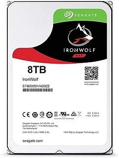 Seagate 希捷 3.5 英寸 8 TB IronWolf SATA III 硬盘驱动器 - 银色