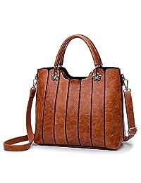 女士皮包顶部提手 - 女士手提包和钱包