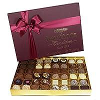 Hamiltons 勃艮第Burgundy 高級豪華手工巧克力禮盒 48個