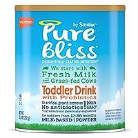 Similac 雅培 Pure Bliss 婴幼儿益生菌奶粉,来自草原奶牛的新鲜牛奶,12.4盎司(352g)(4罐装)