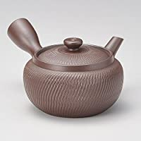 万古茶壶2.0红梅形啤*(丸井网)(万古烧) [300cc 320g] [茶壶] 日式*馆 旅馆 日式餐具 餐馆 时尚 餐具 业务用