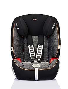 Britax 宝得适 汽车儿童安全座椅 Evolution123 超级百变王白金版 五点式安全带 曜石黑 适用于体重9-36kg 9个月-12岁