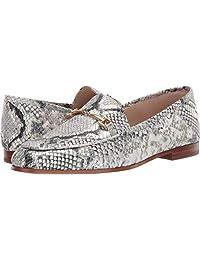 Sam Edelman 女士 Loraine 乐福鞋,银色,4 英国