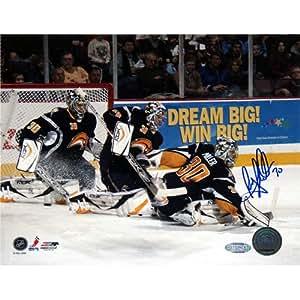 NHL Buffalo Sabres Ryan Miller 多暴露标志 8x10 照片