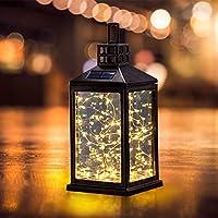 太阳能灯户外 SUNWIND 防水太阳能台灯 挂灯 30 个暖白色 LED 适用于花园庭院风景装饰