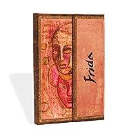 Paperblanks 笔记本 带阅读带 & 内袋 | Frida,双幅画 | 迷你(140 x 100 毫米) | 176 页 | 无横格