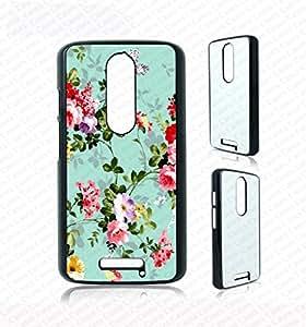 Krezy Case 多彩花朵 Moto g3 手机壳,机车 g3 保护套,可爱 moto g3 手机壳,独特机车 g3 花朵保护套,Moto *三代手机壳
