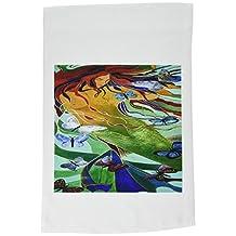 taiche 丙烯酸艺术–MYTHOLOGY 美人鱼–旗帜 12 x 18 inch Garden Flag