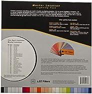 Lee 过滤器主位置包,36 张预裁 25.4 x 30.48 厘米,可用于颜色正确、灯光形状工具和彩色效果照明过滤器