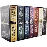 英文原版 冰与火之歌 7本套装 A Game of Thrones: The Story Continues(A Song of Ice and Fire) (A Game of Thrones( A Song of Ice and Fire))