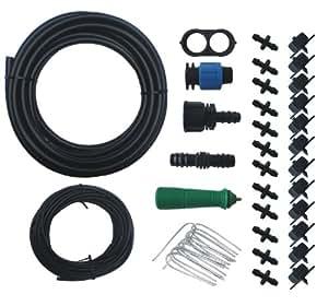 Ancnoble Drip 灌溉控制器/套件,迷你,黑色和绿色