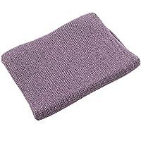 JLIKA 新生儿摄影道具婴儿照片道具拉伸包裹 - 28 种颜色可供选择(紫色灰色)