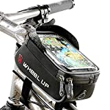 JRTPK 自行车包防水自行车管包前梁包自行车前框架包山地自行车包公路自行车骑行包手机触摸屏支架自行车包