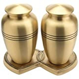 Urns UK Metal Urn Brass Cheadle Brass Companion,黄铜