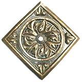 Pentair 5822807 墙弹簧青铜方形大花玫瑰装饰装饰