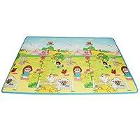 Fisher Price 费雪 韩国进口加厚单面宝宝爬行垫 婴儿游戏垫BMF14 (130*200*1cm) (新老包装随机发货)