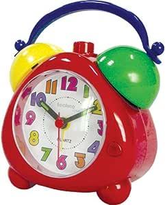 德国品牌Technoline 扫描石英钟红色外壳Geneva K/ Quartz clock red