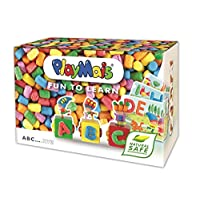 PlayMais Fun To Learn ABC Alphabet - Arts and Crafts Modeling Kit - Educational Toys