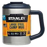 Stanley 史丹利 中性 双层桌面杯 10-01701-009 拉丝不锈钢