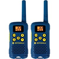 Motorola 摩托罗拉 25.8 公里范围 22 通道 FRS/ GMRS 双向无线电 浅蓝 apple