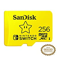 SanDisk microSDXC UHS-I 卡,任天堂开关SDSQXAO-256G-GNCZN 2019 Version 256 GB