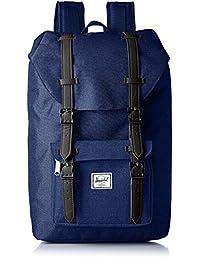 Herschel Supply Little America 中号 中性 经典系列 时尚双肩背包 10020 17 L(亚马逊进口直采,加拿大品牌)