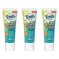 Tom's of Maine 兒童牙膏 兒童牙膏 天然牙膏 5.1 Ounce, 3 Pack