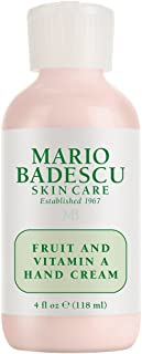 Mario Badescu Fruit and Vitamin A & D Hand Cream SPF 10, 4 oz.